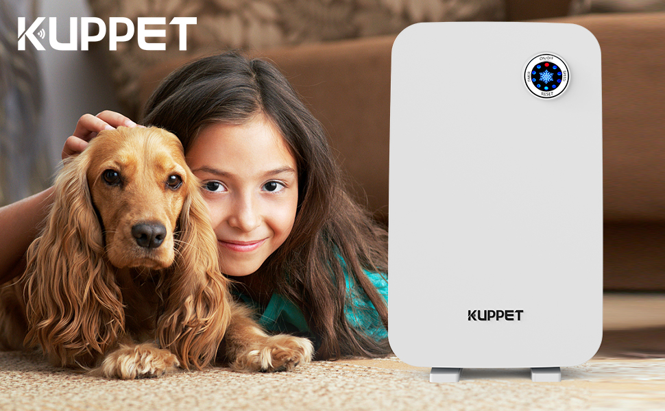 Kuppet Air Purifier - True HEPA Filter Air Purifiers