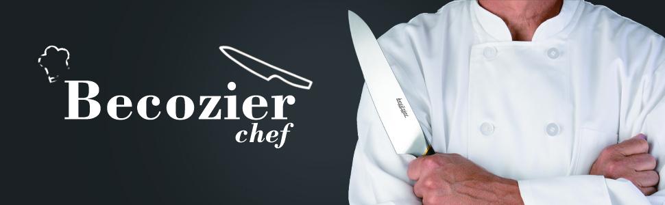 Amazon.com: Becozier Professional Chefs Knife, 8 inch ...