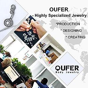 oufer Piercing jewelry