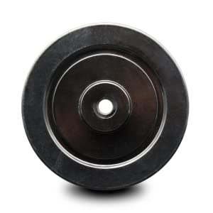 Service Caster, soft rubber wheel