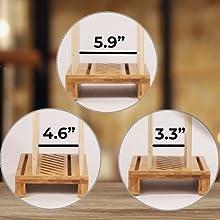 Bread slicer adjustable width