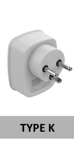denmark power adapter