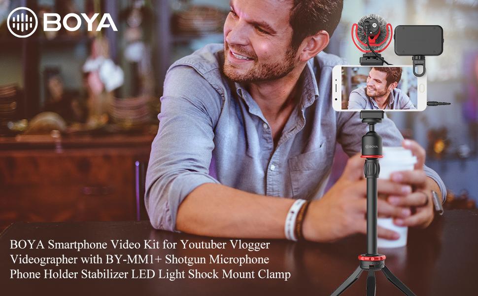 boya smartphone video audio kit