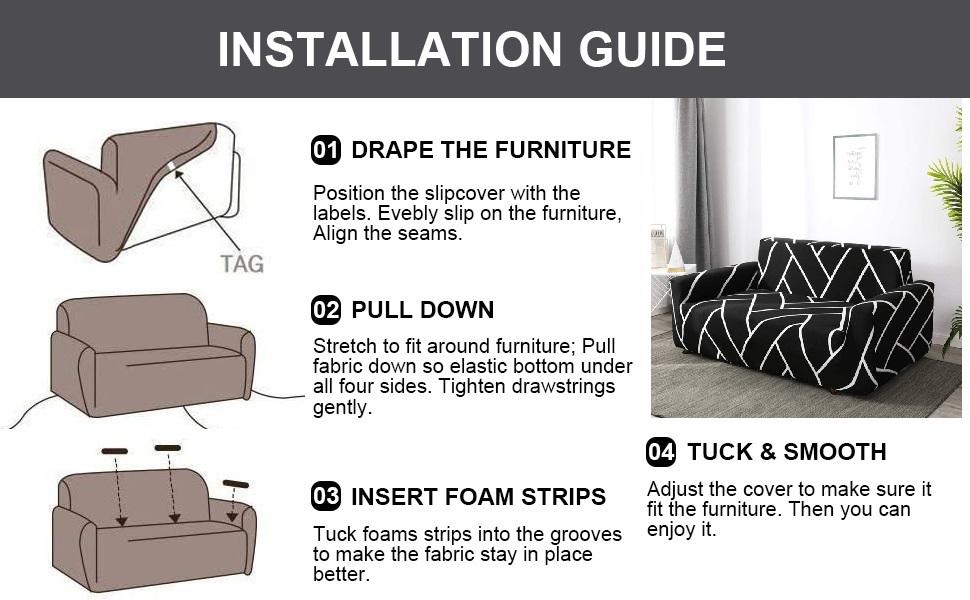 Sofa cover elastic stretchable