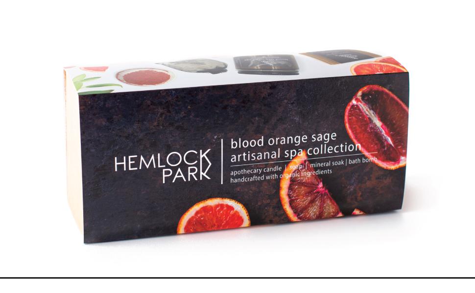 Blood Orange Sage Artisanal Spa Collection Gift Box