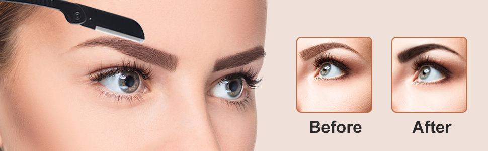 Professional Eyebrow Razor