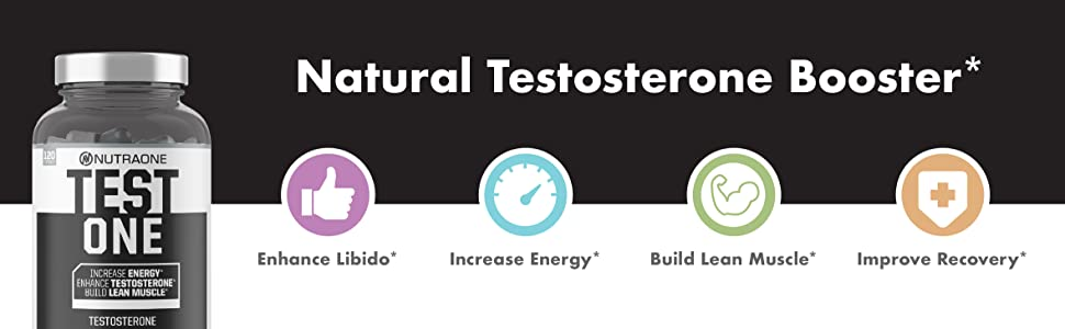 Natural Testosterone booster enhanve libido increase energy build lean muscle improve recovery