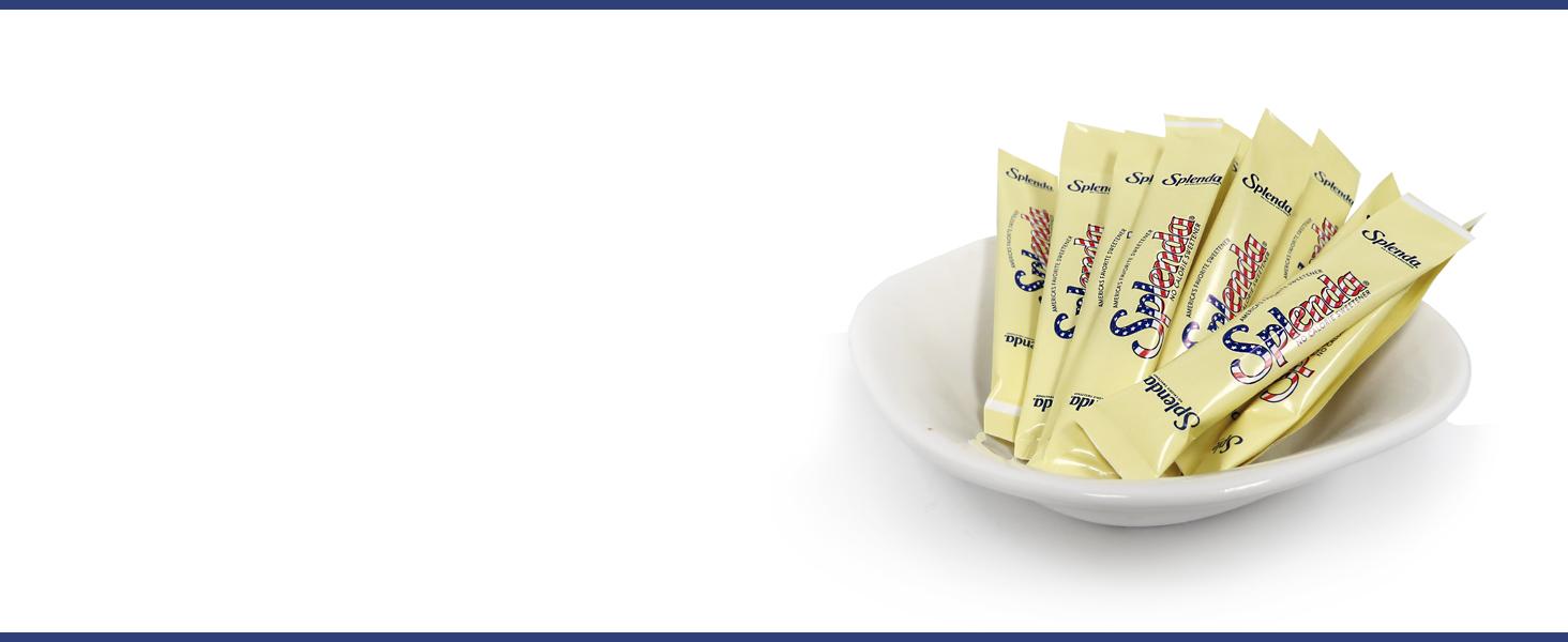 Splenda zero calorie sweetener cafe sticks