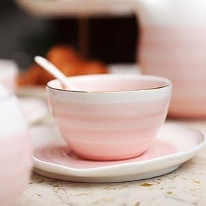 tea cup pink