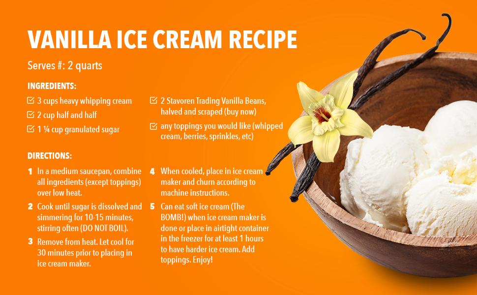 Vanilla Recipe