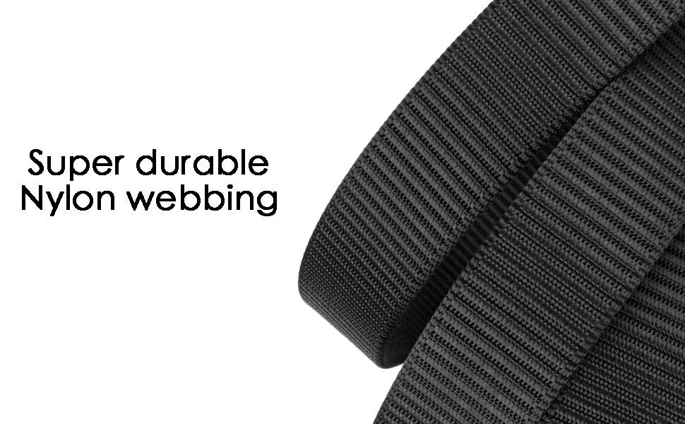 nylon webbing belt