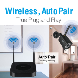 Wireless plug and play
