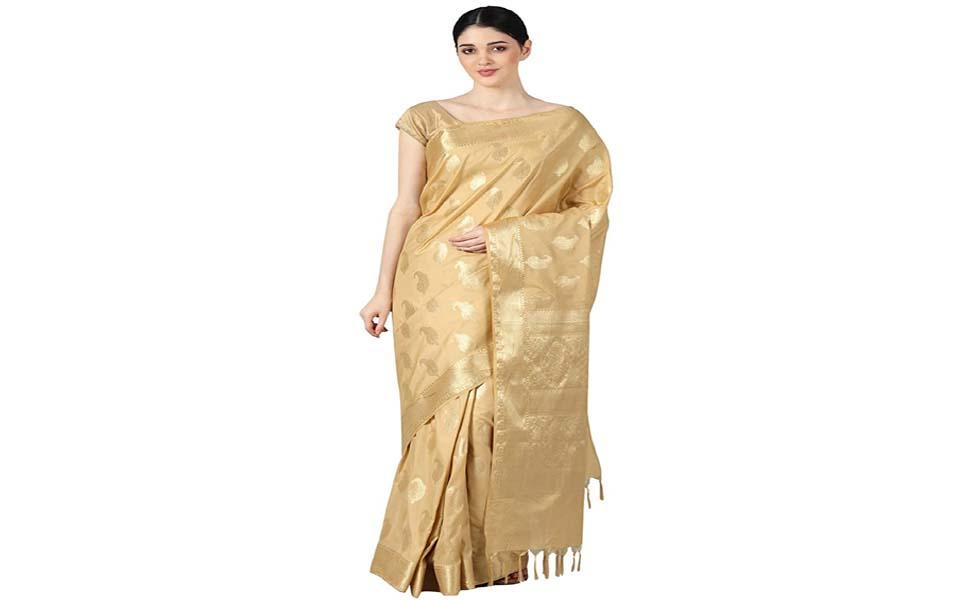 Skin Fabric Saree