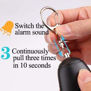 Emergency Self Defense Security personal Alarm for Kids Elderly