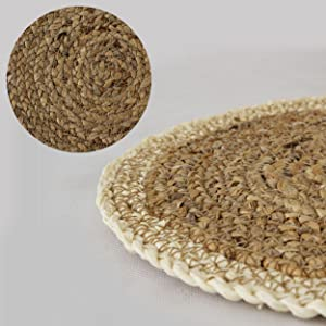 placemats round set of 4