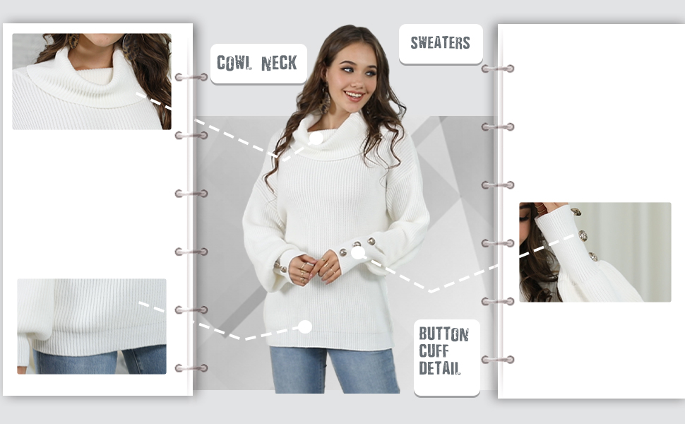 Women's Solid Color Loose Sweaters