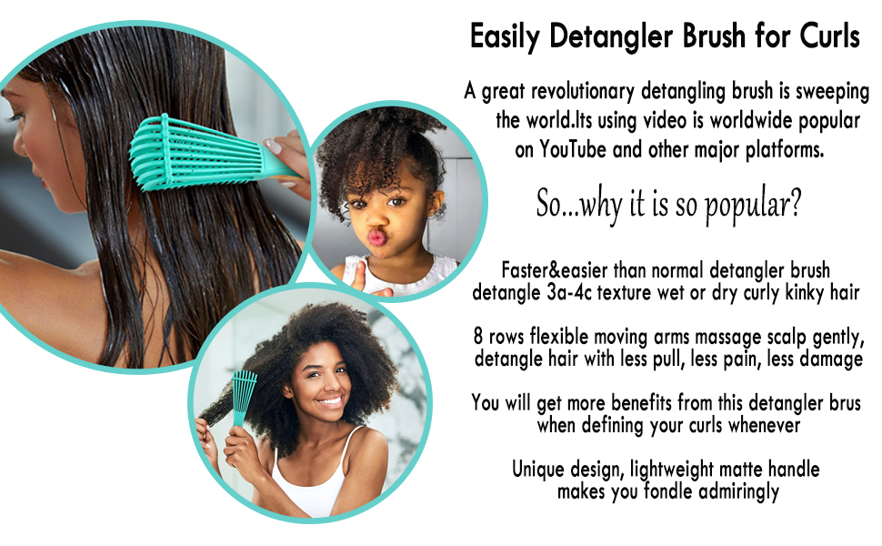 easIy detangling brush