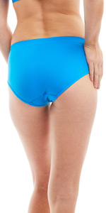 brief full coverage panty panties blue kalon seamless nylon spandex soft stretchy comfy comfort