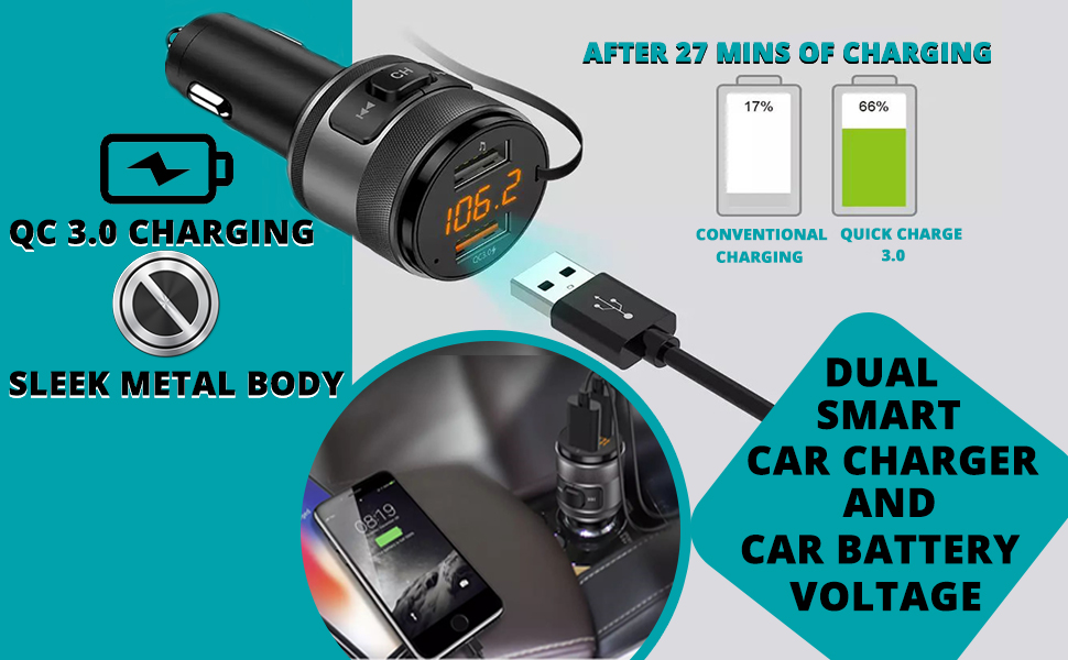 SPN-TP3A0 VeeDee Car Bluetooth Device