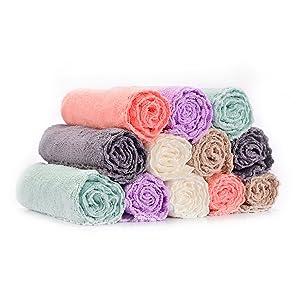 washcloths 10 pack