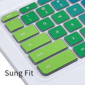 Keyboard Cover Skin for Acer Chromebook 15