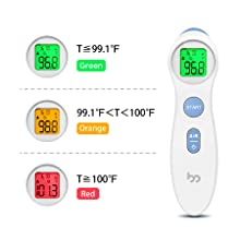 thermometer for adults forehead
