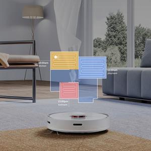 roborock S5 MAX - Robot Aspirador (policarbonato), Blanco [Clase de eficiencia energética A+++]