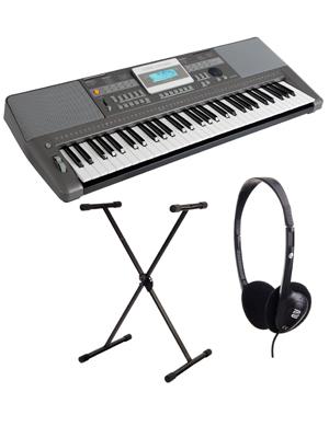 Classic Cantabile CPK-303 Set Deluxe de teclado con soporte y ...