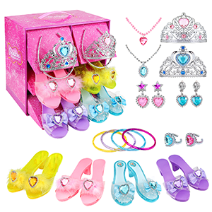 Princess Dress Up Shoes and Jewelry Boutique