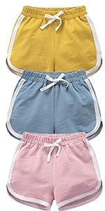 girls kids baby big shorts