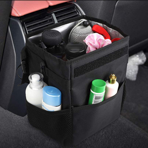 trash container for vehicle car trash bin