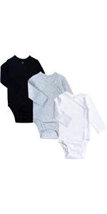 baby side snap bodysuit