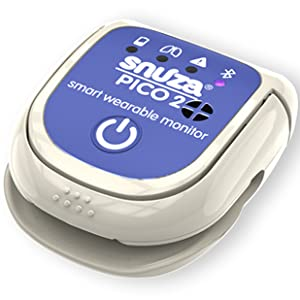 Snuza Pico 2 Smart Baby Breathing and Motion Monitor with Mobile App