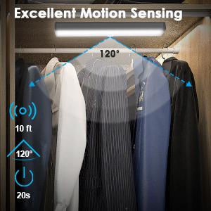 led motion closet light