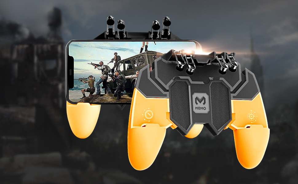A revolution in mobile game controller