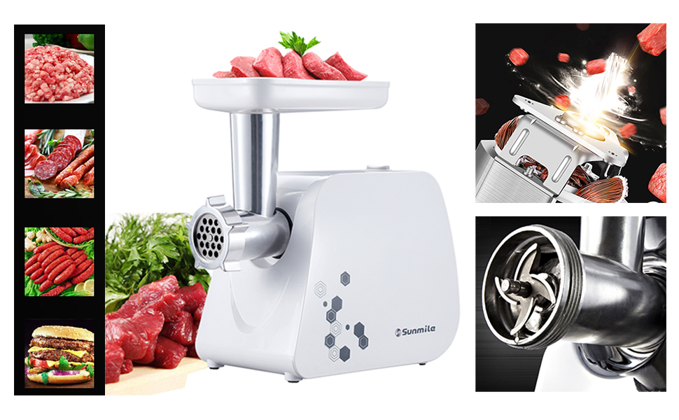 sunmile new meat grinder electric