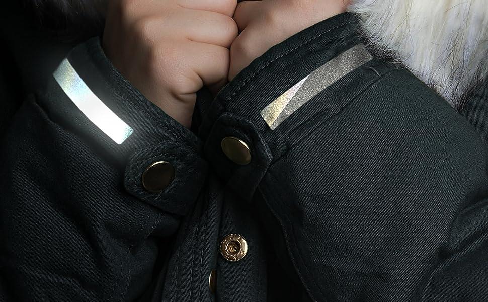 reflexsticker in metallic-matt Edition 16 x 10,5 cm Motive und Farben Kleidung Helme etc - f/ür Textilien Ranzen Bogenma/ß L Motiv #13, silber versch selbstklebende Reflektoren-Aufkleber