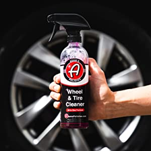 Adam's Wheel & Tire Cleaner Clay Bar Air Cannon Iron Remover Paint Spray Diablo Chemical Guys