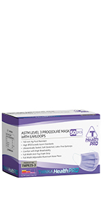 THINKA ASTM L3 PROCEDURE MASK (50pcs) - Medical Mask -Surgical Mask