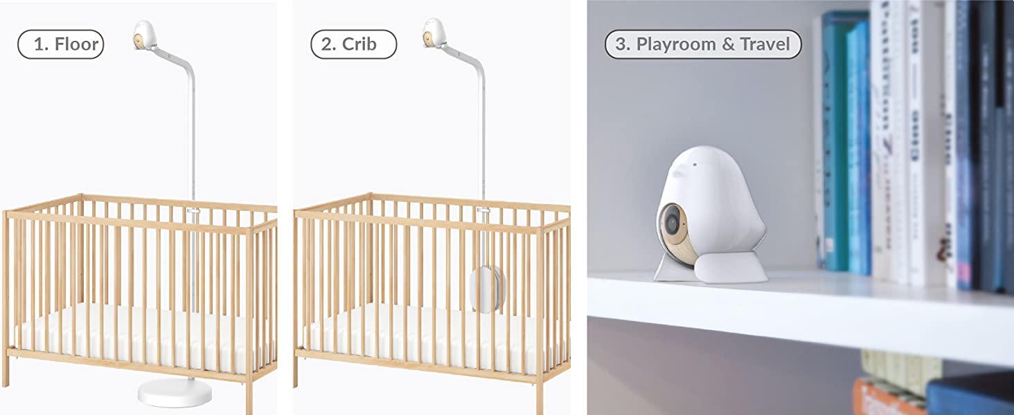 stand for crib nursery and travel