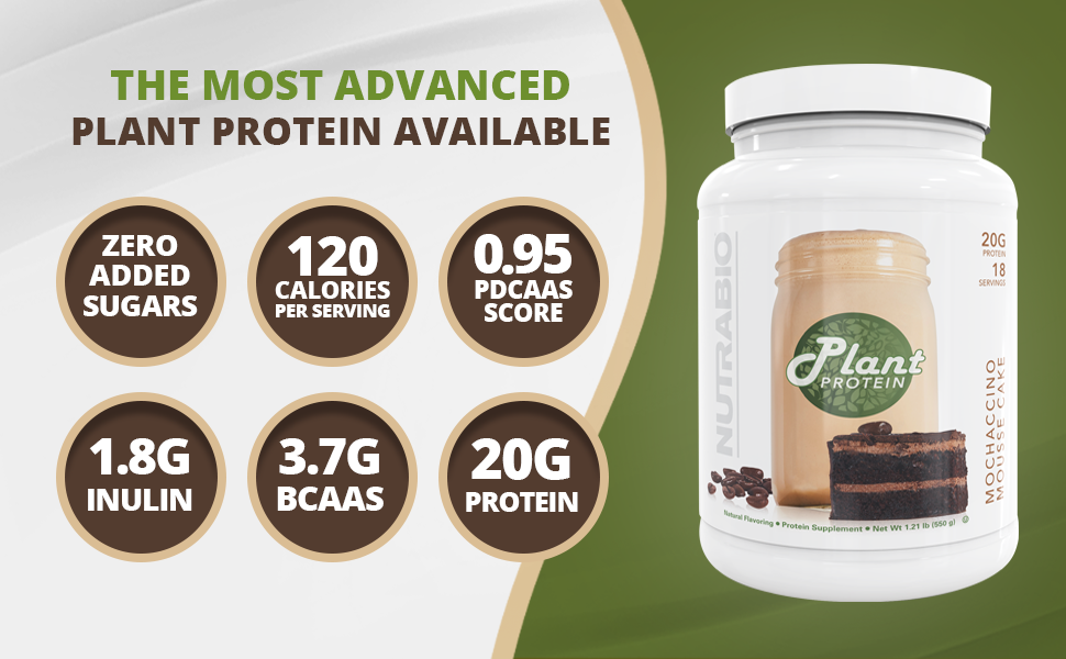 zero added sugar no low calories protein inulin plant vegan