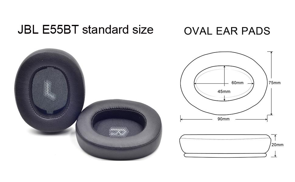 JBL E55 standard size