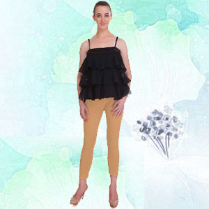 saundarya, cropped leggings