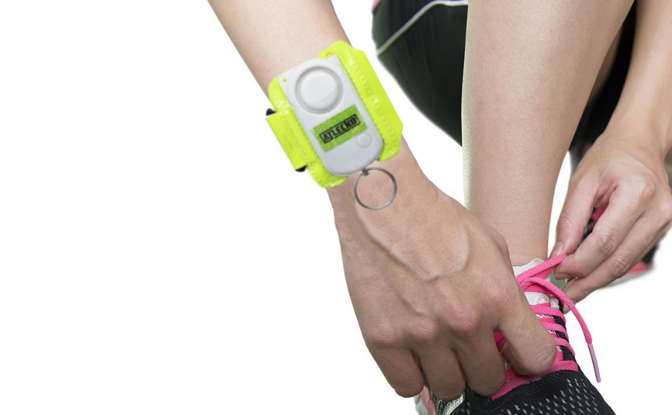 personal safety alarm for runners
