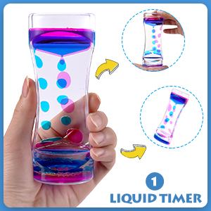 pink and blue timer