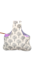 Knitting Bag Yarn Storage Tote bag yarn holder storage bag for knitting crochet pot bag drum storage