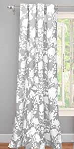 floral delight window curtain