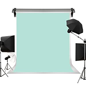 Kate 5x7ft//1.5x2.2m Solid Blue Backdrops Oil Painting Portrait Photography Shoot Studio Props