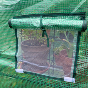 greenhouse with windows