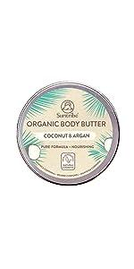 Suntribe All Natural Body Butter Kokos & Argan